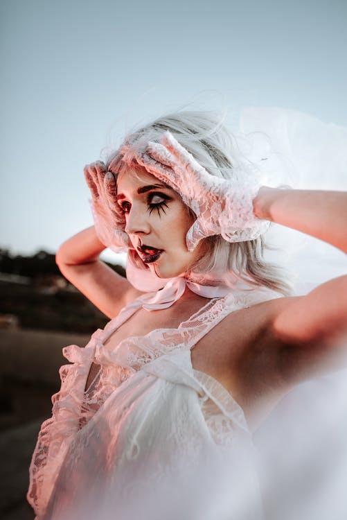 Kreativt halloween kostume